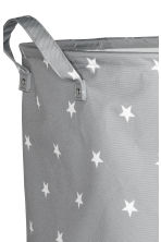 Large storage basket - Grey/Stars - Home All | H&M CN 2