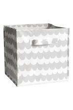 Storage box - Light grey/Patterned - Home All | H&M CN 1