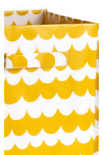 Storage box - Mustard yellow/Patterned - Home All | H&M CN 2