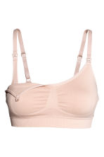 MAMA 2-pack soft nursing bras - Black/Light beige - Ladies | H&M 3