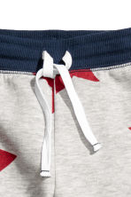 Sweatpants - Grey/Stars -  | H&M CN 3