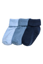 3-pack socks - Dark blue - Kids | H&M CA 1