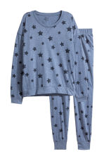 Pyjamas - Blue/Stars - Ladies | H&M 1