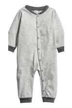 3-pack all-in-one pyjamas - White/Bears - Kids | H&M CN 4
