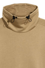 Felpa con collo a cratere - Beige scuro - UOMO | H&M IT 3