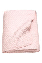 Quilted bedspread single - Light pink - Home All | H&M CN 1