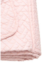 Quilted bedspread single - Light pink - Home All | H&M CN 2