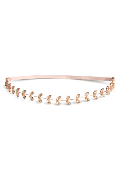 Hairband - Rose gold-coloured - Ladies | H&M 1
