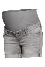 MAMA Denim shorts - Grey denim - Ladies | H&M 2
