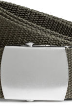 Webbing belt - Khaki green - Men | H&M 2