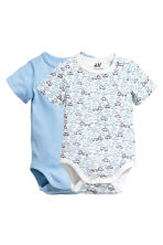 2-pack body - Ljusblå - Kids | H&M FI 1