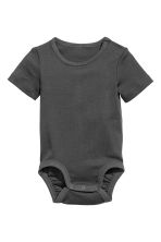 2-pack bodysuits - Dark grey - Kids | H&M 2