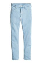 Superstretch Skinny Fit Jeans - 浅牛仔蓝 - 儿童 | H&M CN 2