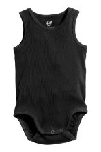 2-pack sleeveless bodysuits - Grey/Stars -  | H&M CN 2