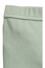 Jersey trousers - Light green -  | H&M CA 2