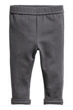 Pantaloni in jersey - Grigio scuro -  | H&M IT 1
