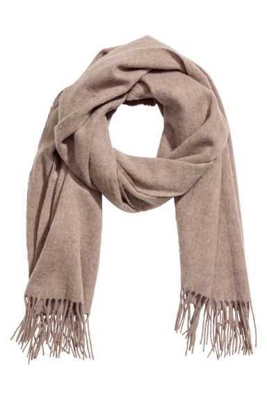 Wool scarf - Beige - Men | H&M CN 1