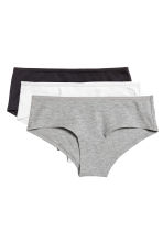 3-pack hipster briefs - Black/Text - Ladies | H&M CN 2