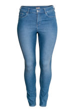 H&M+ Stretch trousers - Denim blue/Marled - Ladies | H&M 2