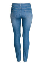 H&M+ Stretch trousers - Denim blue/Marled - Ladies | H&M 3