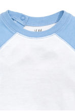 Long-sleeved T-shirt - Light blue - Kids | H&M CN 2