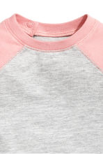 Long-sleeved T-shirt - Grey/Pink - Kids | H&M 2