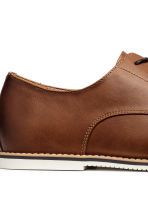 Derby shoes - Brown - Men | H&M CA 4