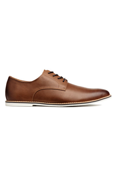 Derby shoes - Brown - Men | H&M CA 1