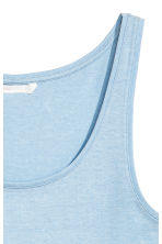 Jersey vest top - Light blue - Ladies | H&M CN 3