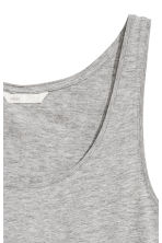 平紋背心上衣 - Grey marl - Ladies | H&M 2