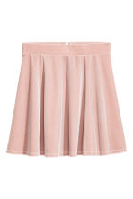 圓裙 - Powder pink/Velour - Ladies | H&M 2