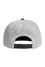 Cap with appliqué - Light grey marl - Men | H&M 2