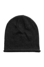 Knitted hat - Black - Ladies | H&M CN 1