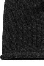 Knitted hat - Black - Ladies | H&M CN 3