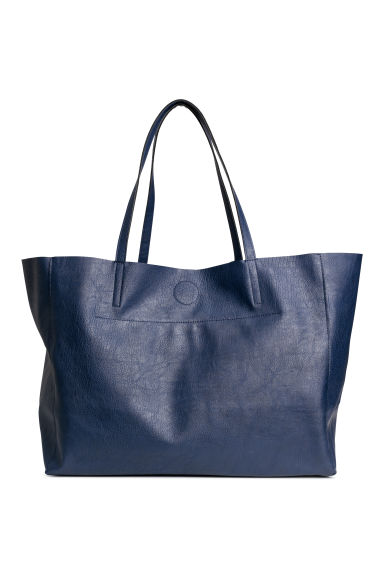 Shopper - Dark blue - Ladies | H&M 1