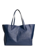 Shopper - Dark blue - Ladies | H&M CA 1