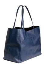 Shopper - Dark blue - Ladies | H&M CA 2