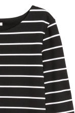 Jersey dress - Black/White striped - Ladies | H&M 3