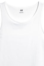 Vest top - White - Men | H&M CN 3