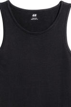 Vest top - Black - Men | H&M 4