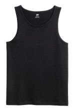 Vest top - Black - Men | H&M CA 2