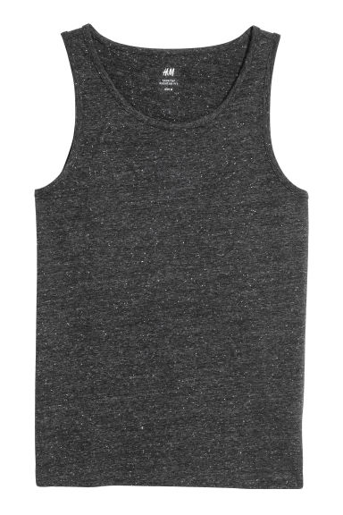 Vest top - Grey - Men | H&M IE 1
