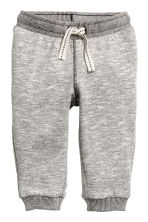 Sweatpants - Grey marl -  | H&M CN 1