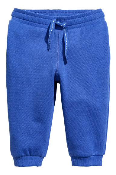 Sweatpants - Cornflower blue -  | H&M 1