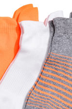 3-pack sports socks - Orange/White - Men | H&M 2