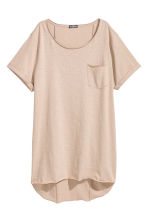 Long T-shirt - Beige - Men | H&M 1