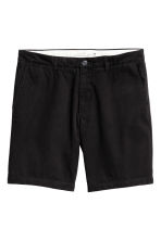 Chino shorts - Black - Men | H&M CN 2