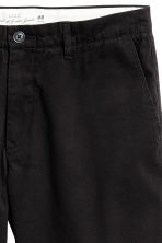 Chino shorts - Black - Men | H&M CA 4