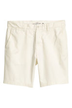 Chino shorts - Natural white - Men | H&M 2