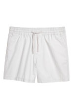 Cotton shorts - Light grey - Men | H&M 2